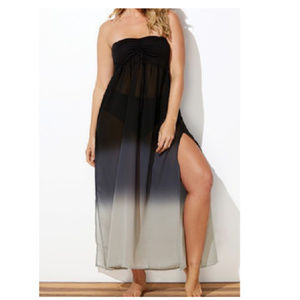 Swimsuits For All Chiffon Ombre Maxi Coverup !